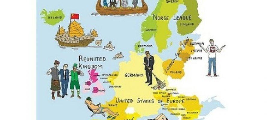 Immagina come sarà l'Europa del 2021