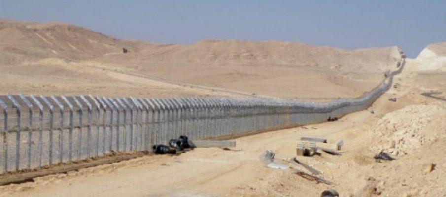 La nuova barriera di Israele
