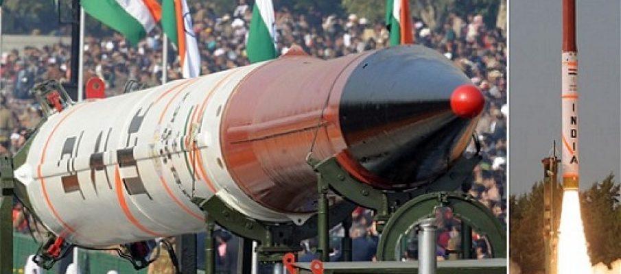 L'India lancia un missile. Da bomba atomica