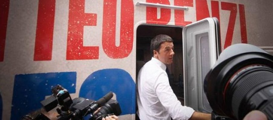 Renzi, il nulla in un camper