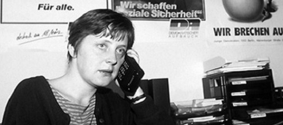 Le avventure della giovane Angela Merkel