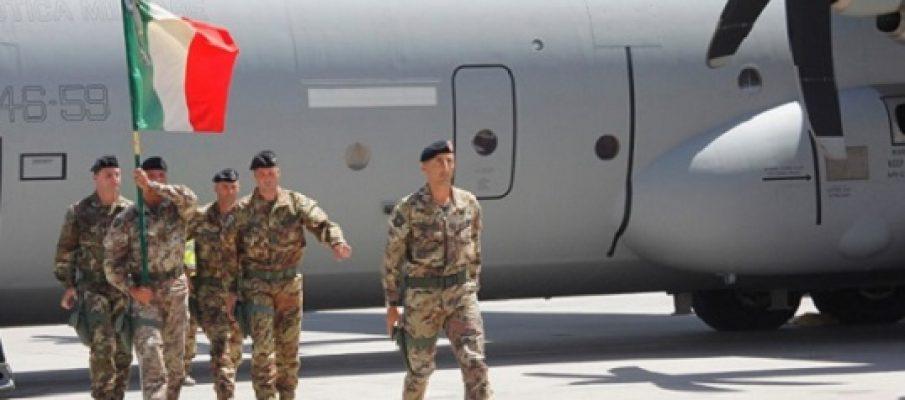 Afghanistan, l'addio degli italiani