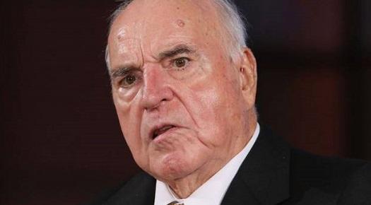 Helmut Kohl, 84 anni