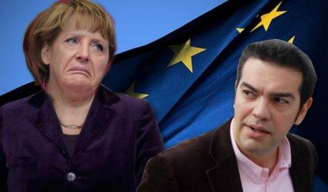 """Alexis Tsipras: """" Il nostro obbligo storico e' reclamare il prestito (che il III Reich obbligo' l'allora banca centrale ellenica a versare, ndr) e le riparazioni per l'occupazione"""" tedesca durata 4 anni .""""."""