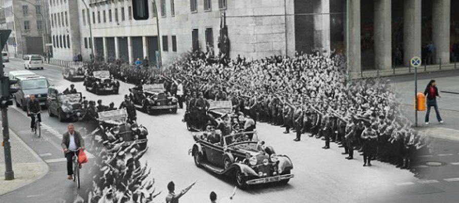 Berlino oggi e nel 1945, strana combinata