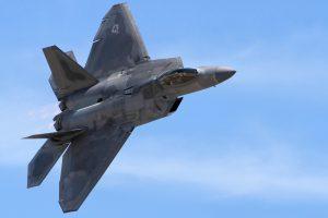 The F-22 Raptor. Airwolfhound photo via Flickr
