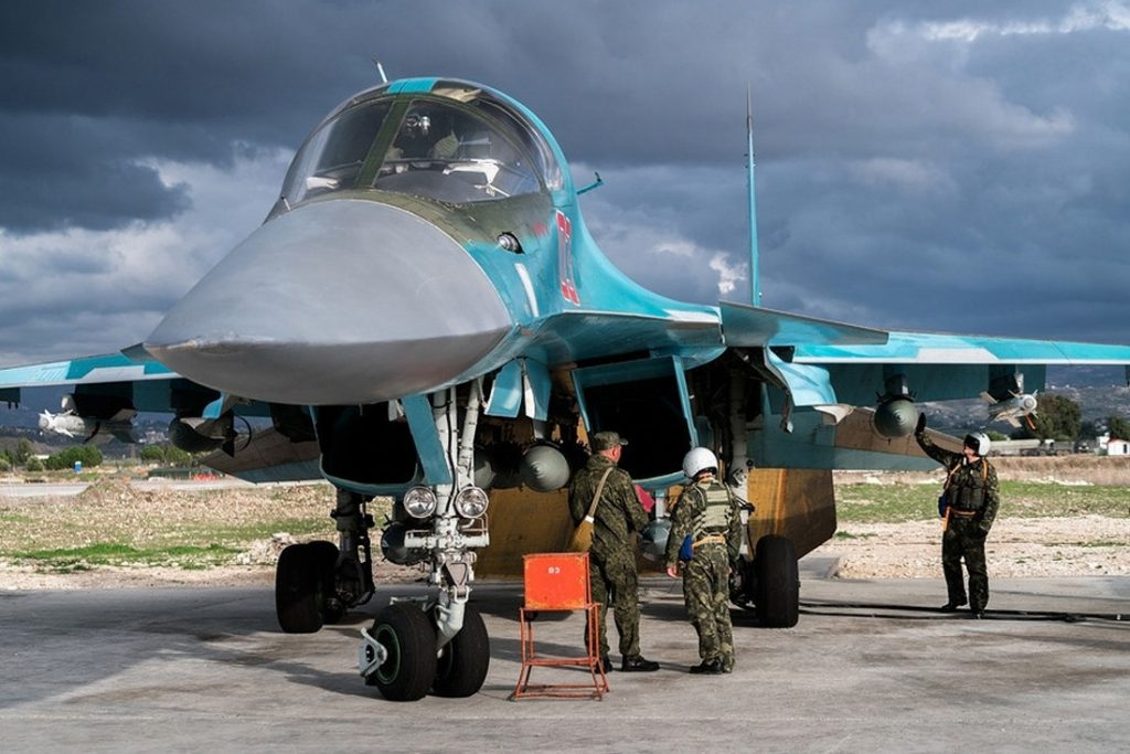 The star of the show in Syria, the Sukhoi Su-34. A majority of Western observers prefer to remain fascinated by these big and powerful fighter-bombers, instead of seriously considering what kind of combat operations are they supporting