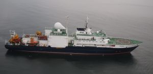 A Russian Spy Ship 'Yantar.' Almaz Design Bureau photo