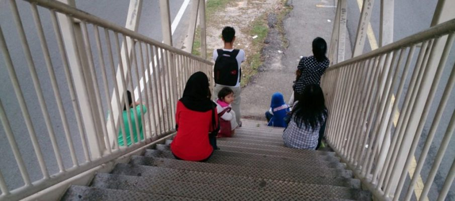 bambini e scale