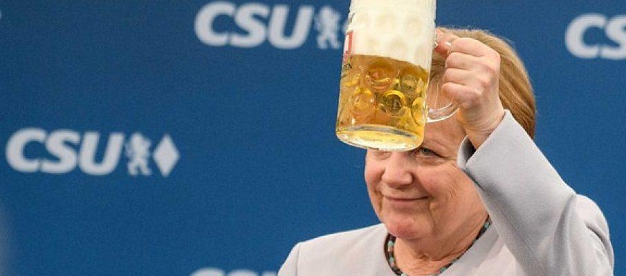 Deutschland. Contro Angela Merkel non c'è gara