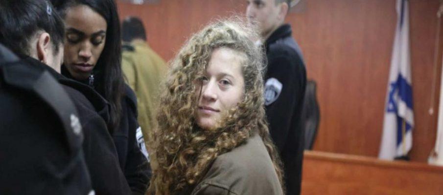 Ahed Tamimi, una bambina palestinese nella prigione israeliana